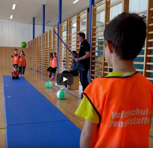 """Drei Disziplinen zählen zum """"Mösle Kids' Athletics 2021"""" im Rahmen des Götzner Meetings, einem virtuellen Bewerb für Vereine und Volksschulklassen. HM"""