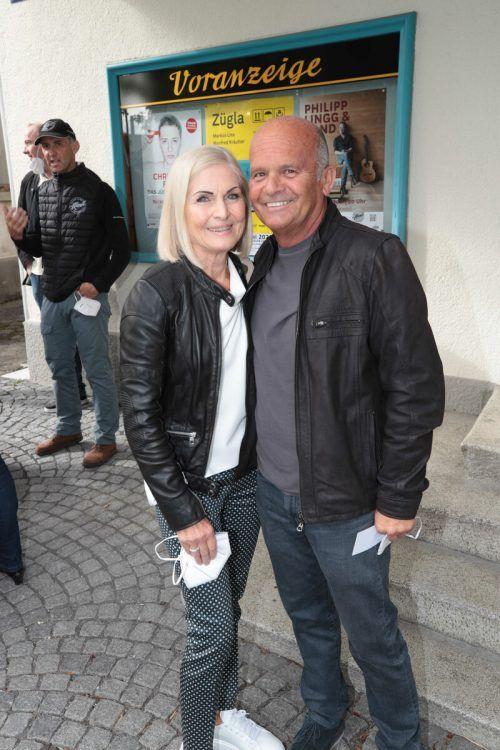 Ebenso mit dabei: Rosalinde und Sponsor Kurt Gau.