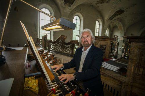 Elgar Polzer wurde mit Talent, Fleiß und Selbstbewusstsein zum Urgestein der Organisten im Land. VN/Paulitsch