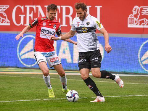 Emir Karic absolvierte nach drei Jahren sein letztes Spiel in der Cashpoint Arena.gepa