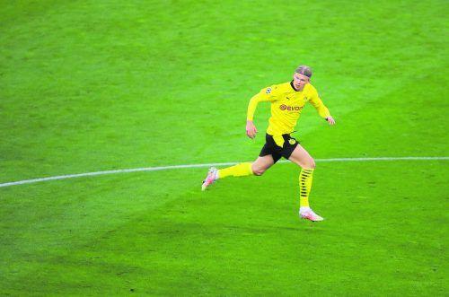Er ist das Wertvollste, das Dortmund im Moment zu bieten hat: Erling Haaland.REUTERS