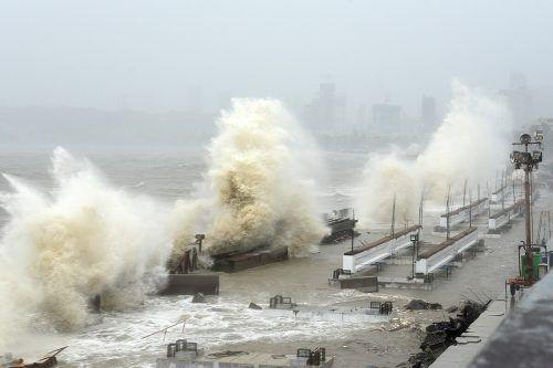 Es soll sich um den schwersten Sturm der vergangenen 30 Jahre handeln. afp