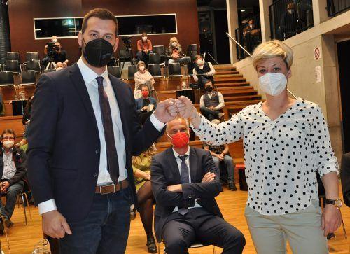 Eva Peter folgt Mario Leiter als Vizebürgermeisterin von Bludenz nach. STAdt