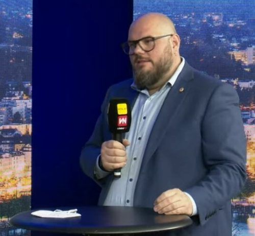 """Fachgruppenobmann Pansi war zu Gast bei """"Vorarlberg live""""."""