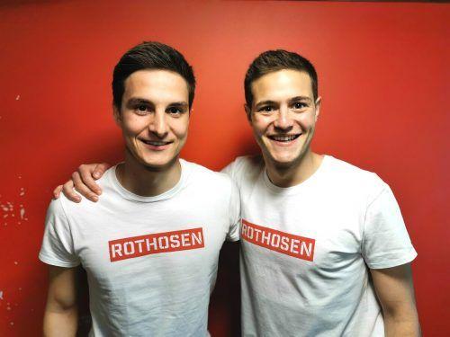 Felix Gurschler und Florian Prirsch sind seit Kindertagen dem FC Dornbirn verbunden. Die beiden Innenverteidiger haben jetzt ihre Verträge verlängert.Verein