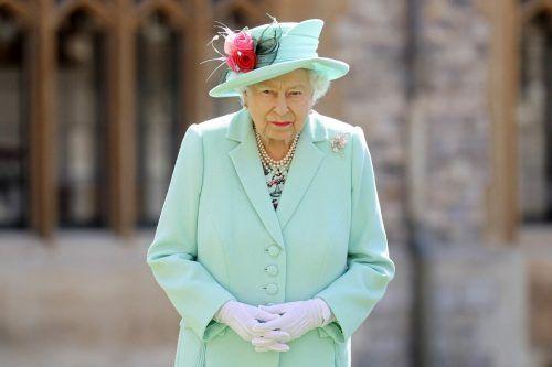 Die Königin würdigte die Anstrengungen für den Friedensprozess. AFP