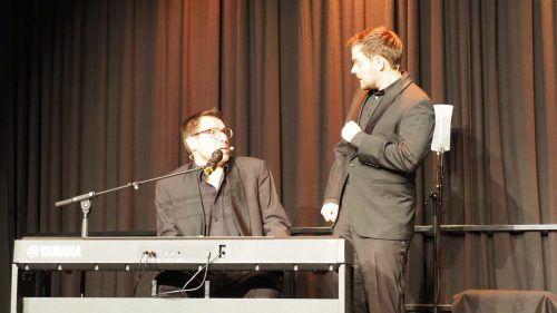 """Flo und Wisch alias Florian Röhlich und David Krammer feierten mit ihrem Programm """"Lockvögel"""" im Altacher KOM Vorarlberg-Premiere.Egle"""