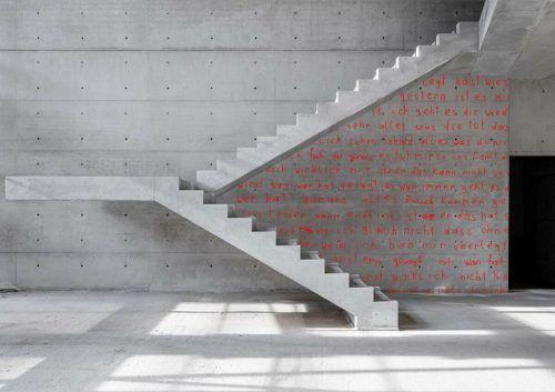 """""""my valduna family … letters from and to…"""" ist eines von drei Kunstprojekten, die im Landeskrankenhaus Rankweil realisiert werden.Scherrer/Fulterer"""