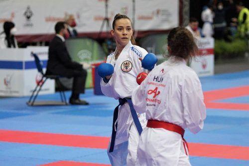 Für Bettina Plank war in Lissabon bereits in Runde eins gegen die Ungarin Karmen Klement Endstation. Damit sind die Chancen auf ein vorzeitiges Olympiaticket gelaufen.KarateAustria