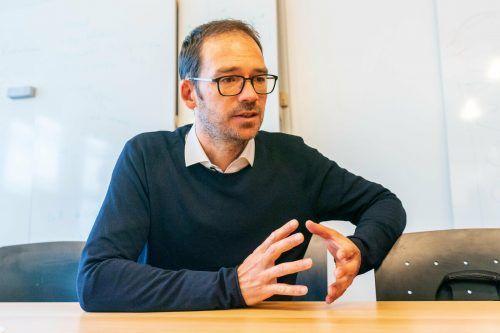 Für Markus Mähr ist Rhesi eine Lebensaufgabe.VN/Stiplovsek