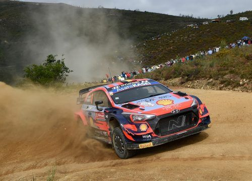 Für Thierry Neuville war die Portugal-Rallye früh zu Ende.ap