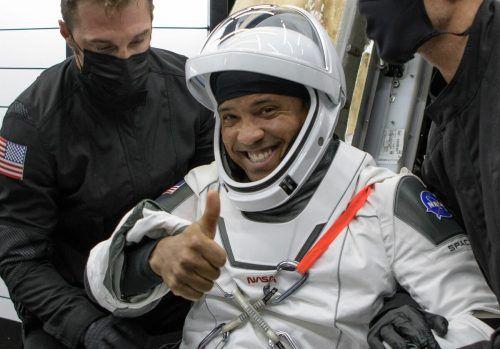 Glücklich auf der Erde gelandet: Astronaut Victor Glover. nasa