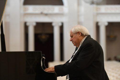 Grigory Sokolov gibt Ende Mai zwei Konzerte in Bregenz. Flegontova