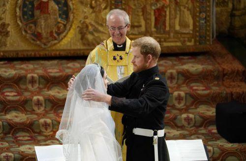 Heute, Mittwoch, feiern Harry und Meghan ihren dritten Hochzeitstag. ap