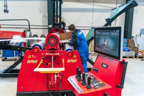 Hightech-Maschinen kommen in Braz zum Einsatz.VN/Stplovsek