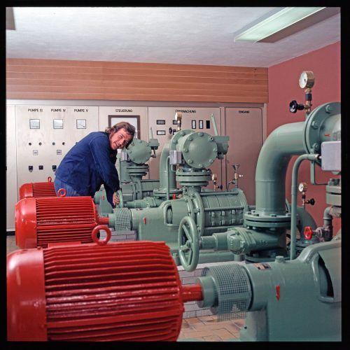 Höchst, Pumpwerk, 1974