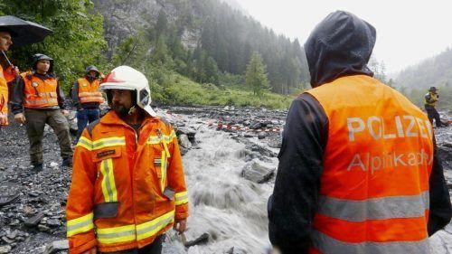 Im August 2020 verloren vier Spanier bei einem Canyoning Unfall in Vättis (Kanton St. Gallen) ihr Leben. Das vierte Opfer wurde erst jetzt geborgen. REUTERS