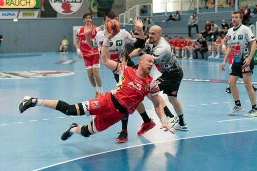 Im Cup-Viertelfinale setzten sich Nejc Zmavc und Hard mit 24:21 durch.VN/DS