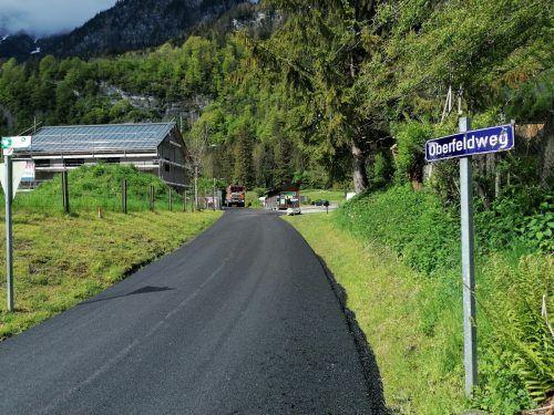 Im Gemeindegebiet von Innerbraz wurden kürzlich in verschiendenen Bereichen Asphaltierungsarbeiten durchgeführt.DOB