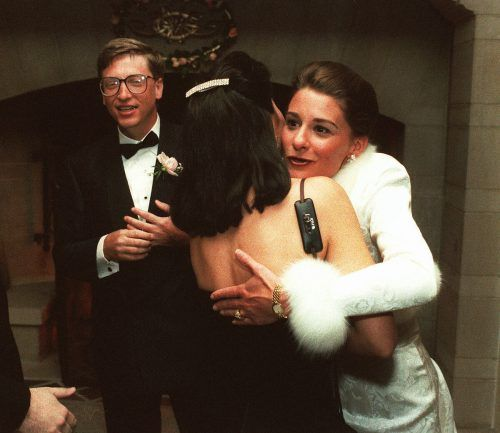 Im Jahr 1994 haben Bill Gates und Melinda geheiratet.