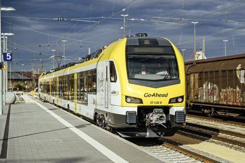 In einem markanten Gelb sind die Zuggarnituren von Go-Ahead gehalten. FA/Berger