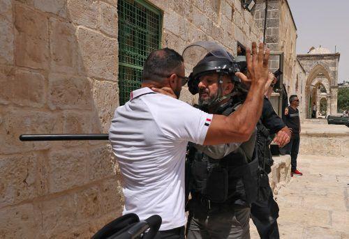 In Jerusalems Altstadt kam es erneut zu Konfrontationen.