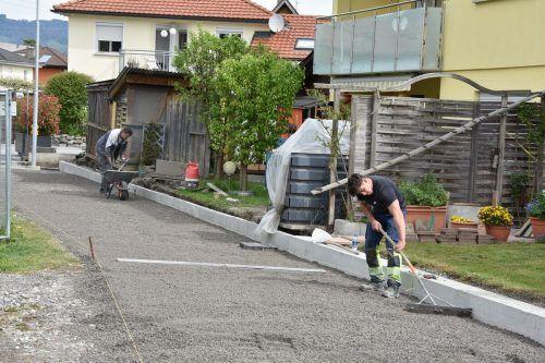 In Mäder wird derzeit der Radweg im Starkenfeld ausgebaut und erweitert. Gemeinde