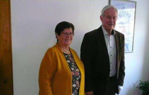 Ingrid und Gerhard ertanzten den 1.Platz.Bludance