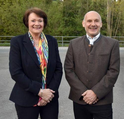 Irmgard Hagspiel könnte Peter Halder als Bürgermeisterin beerben. AJK