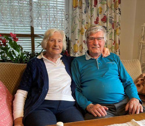Isolde und Alfred Nesensohn blicken zufrieden auf 65 Jahre Ehe zurück.