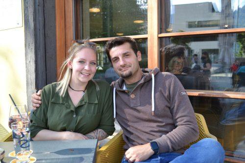 Jasmine Stany und Zeljko Maksimovic waren von dem Konzert begeistert.