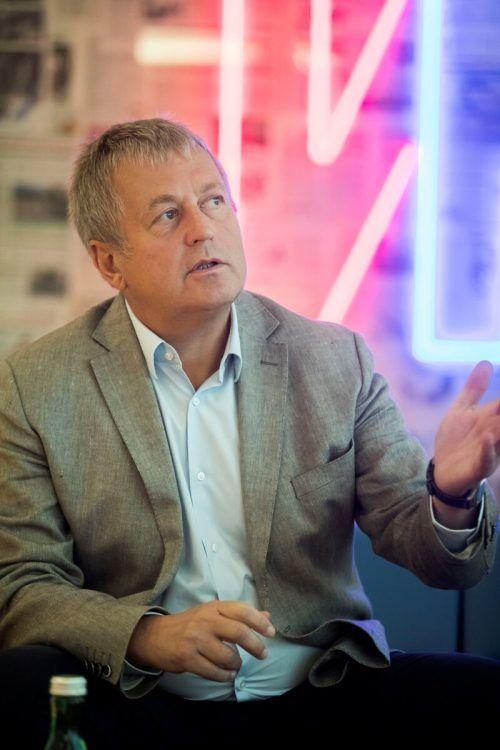 Jufa-Gründer und Chef Gerhard Wendl eröffnet am Freitag in Laterns. VN/RP