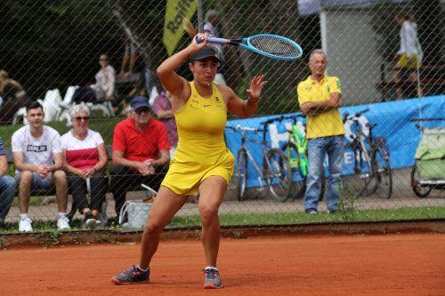 Kämpfte sich in Antalya (Tur) bis ins Viertelfinale vor: Tamira Paszek.Hartinger