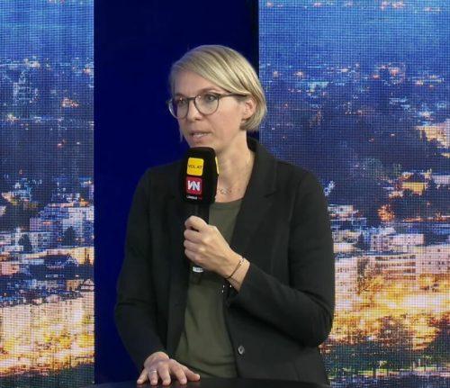Katharina Fuchs erklärte, wer den Familien-Härtefonds beantragen kann.