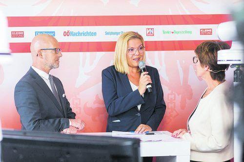 Kathrin-Stainer Hämmerle glaubt, dass die FPÖ von Corona profitiert. VN