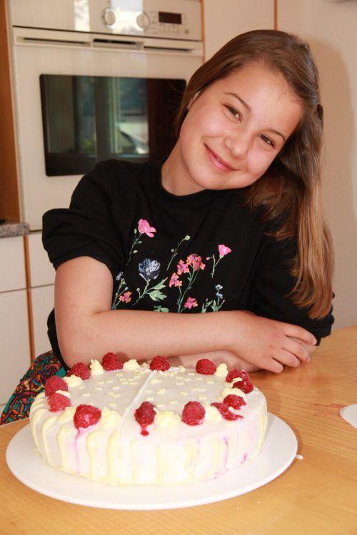 Katrin Weitgasser überraschte ihre Mama mit einer köstlichen Muttertagstorte.Privat