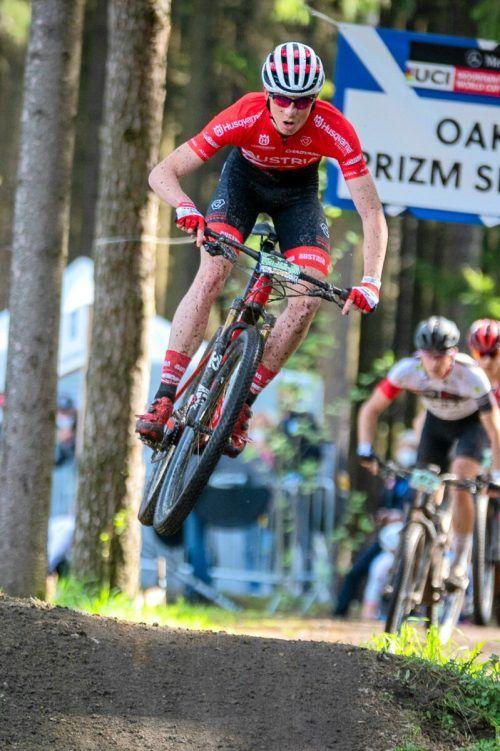 Kilian Feurstein war in Tschechien bestplatzierter Österreicher.EgoPoromotion/ÖRV