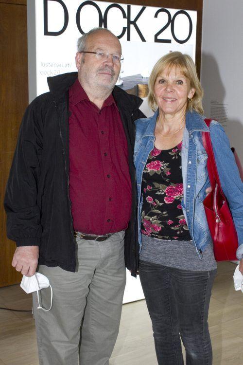 Klaus und Ines Wurzinger sind treue Galeriebesucher.