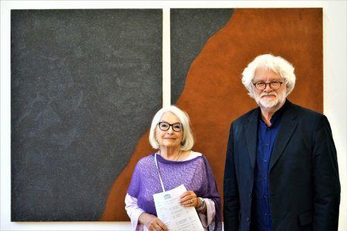 Künstlerpaar Ursula Dornig und Norbert Müller. yas/4