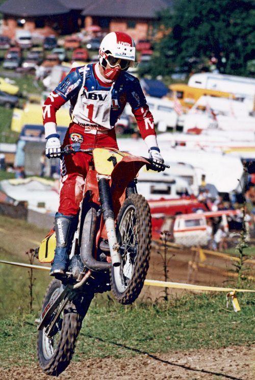 Kurt Mähr schaffte es in die höchste Motocross-Kategorie.