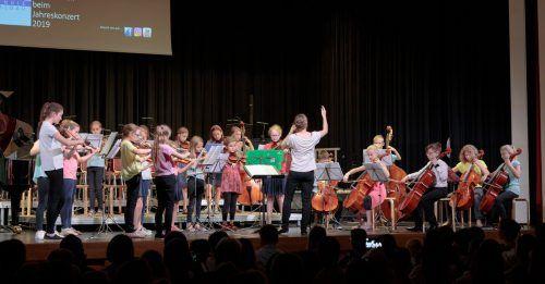 Lange ist es her, dass die Schüler ein Konzert gaben. Diesmal bringen sie die Musik in die eigenen vier Wände. Musikschule Walgau/Archiv