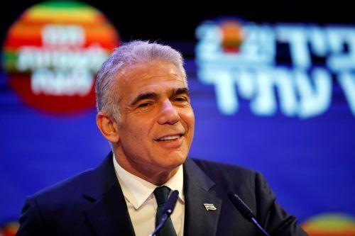 Lapids Zukunftspartei gehört zur politischen Mitte. reuters