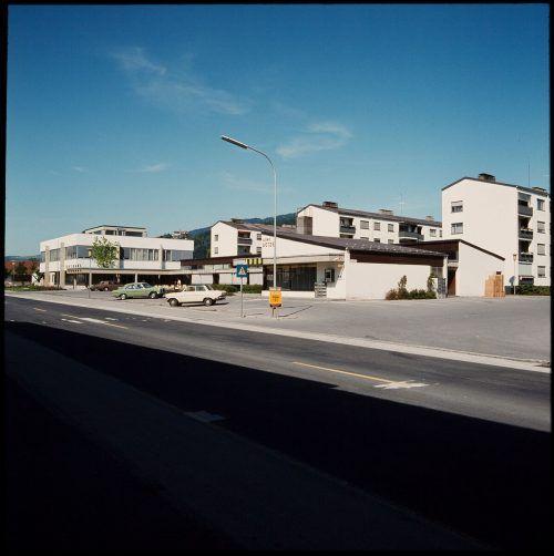 Lauterach, Ortszentrum, 1973