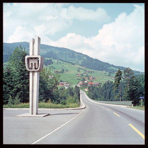 Lingenau, Hochbrücke, 1972