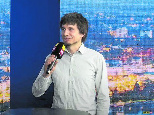 Manuel Kirisits-Steinparzer bewarb auch gerne den neuen Bioeinkaufsführer.vn