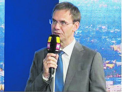 Markus Wallner versprüht Optimismus. vn