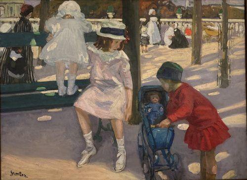 Martha Stettler: Les petites mamans, um 1908.Christel Voith