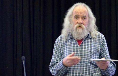 Michael Weingarten spricht in Feldkirch über Stanislaw Lem. wolfgang rüter