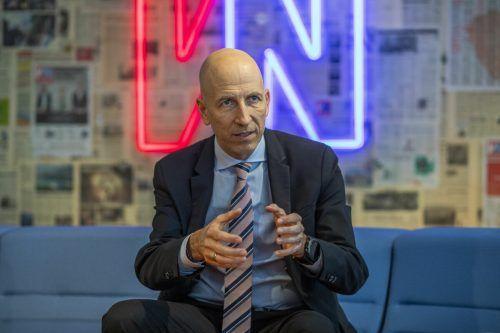 Minister Martin Kocher will Homeoffice-Gesetz ausweiten. VN/Paulitsch