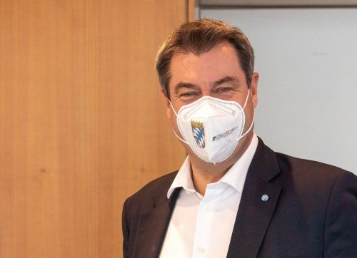 Ministerpräsident Söder verkündete weitreichende Öffnungsschritte. AFP